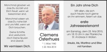 Zur Gedenkseite von Clemens