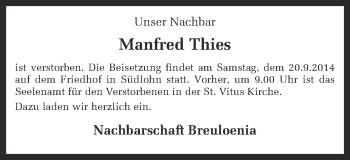 Zur Gedenkseite von Manfred