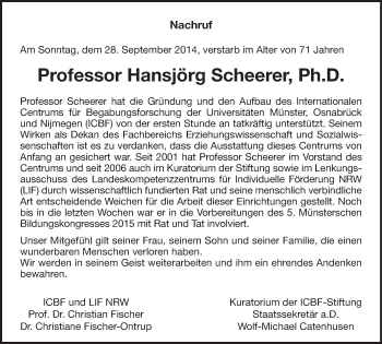 Zur Gedenkseite von Hansjörg