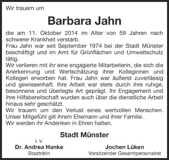 Zur Gedenkseite von Barbara