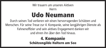 Zur Gedenkseite von Udo