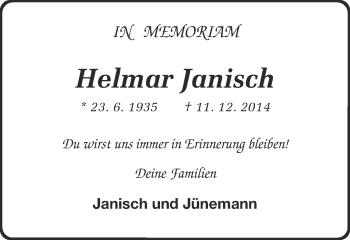 Zur Gedenkseite von Helmar