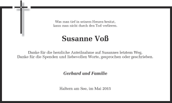 Zur Gedenkseite von Susanne