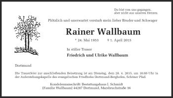 Zur Gedenkseite von Rainer
