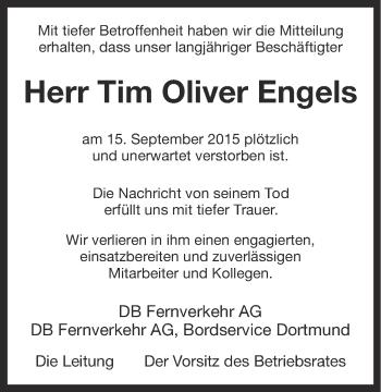 Zur Gedenkseite von Tim Oliver