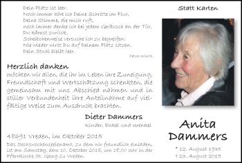 Zur Gedenkseite von Anita