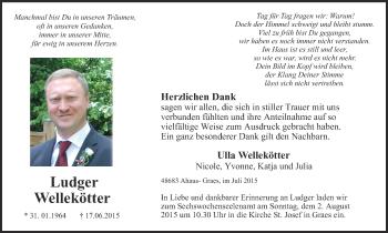 Zur Gedenkseite von Ludger