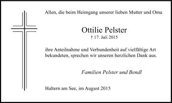 Zur Gedenkseite von Ottilie