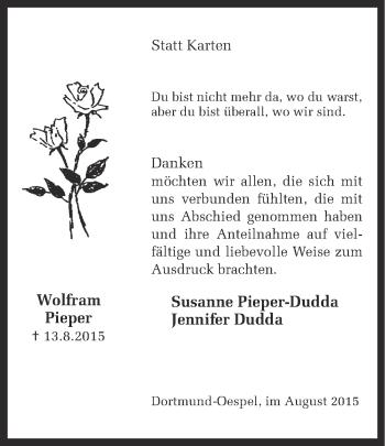 Zur Gedenkseite von Wolfram