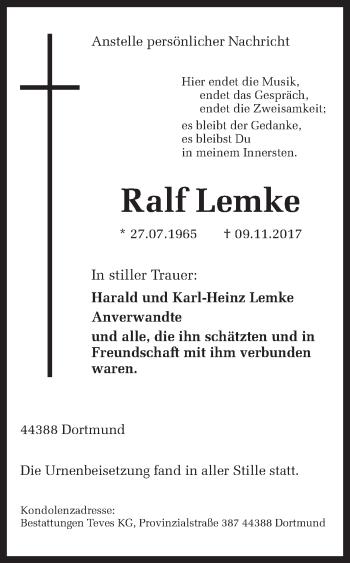 Ralf Und Rolf Lemke